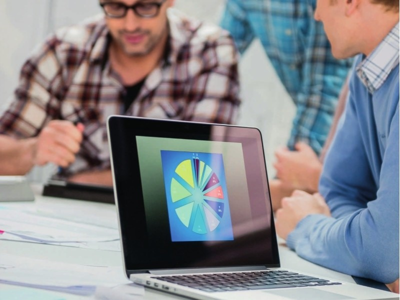 ausgänge am laptop